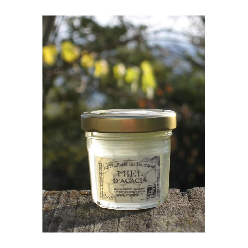 Miel Acacia Bio en pots de 50g