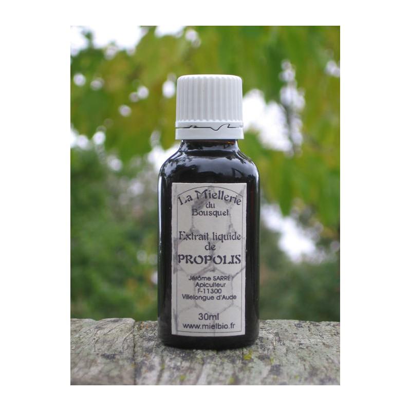 Extrait liquide de Propolis Bio 30ml