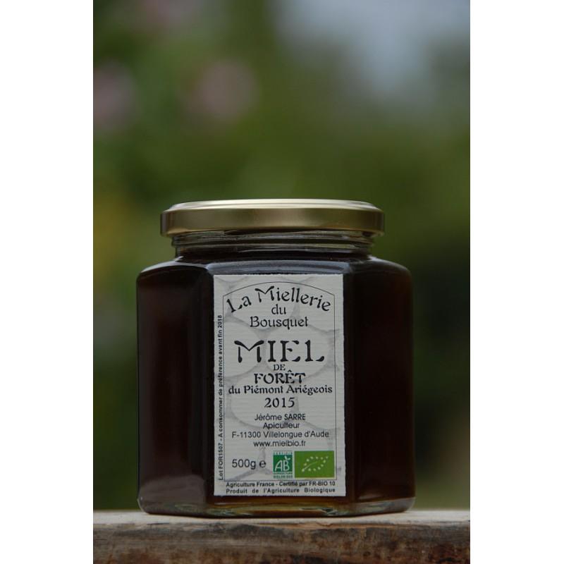 Miel de Forêt Bio Ariège 2015 pot 500 gr