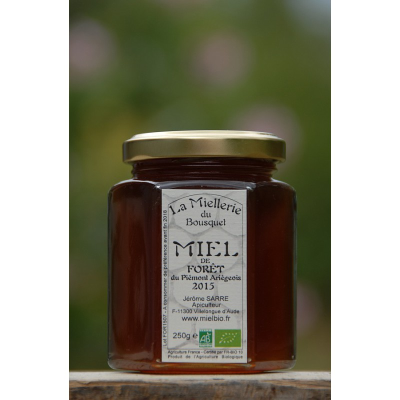 Miel de Forêt Bio Ariège 2015 pot 250g