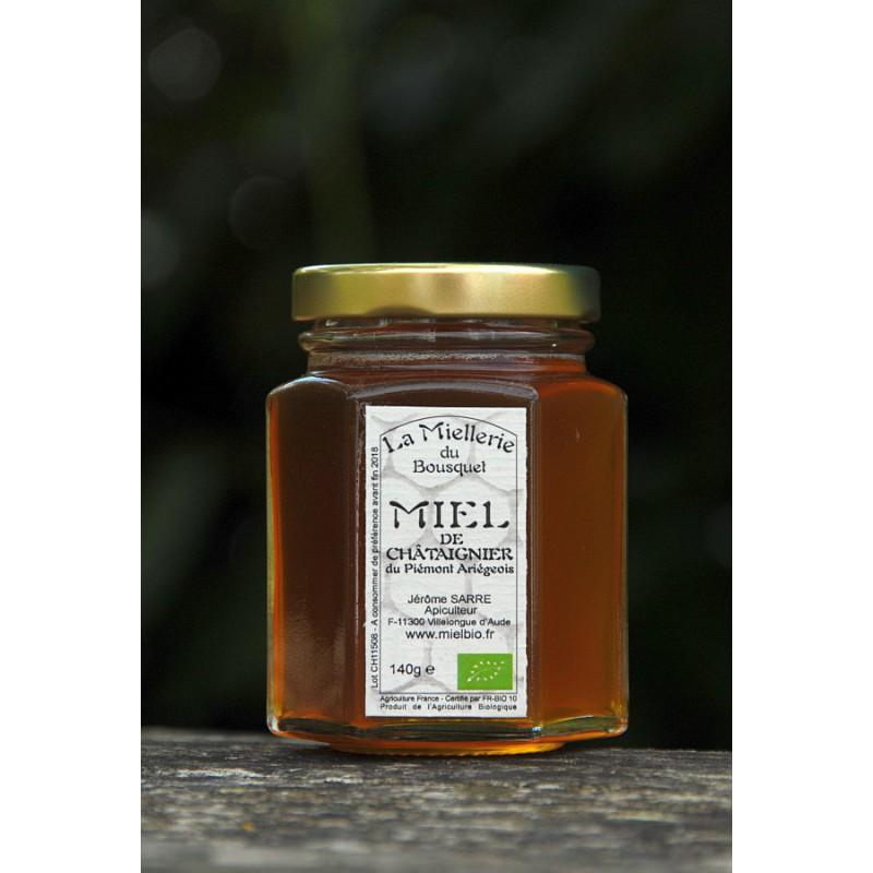 Miel de Châtaignier Bio Ariège 2015 140g