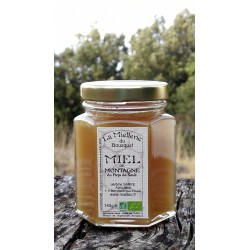 Miel de Montagne Bio 2015 en pot de 140g