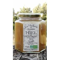 Miel de Montagne Bio 2015 en pot de 500g