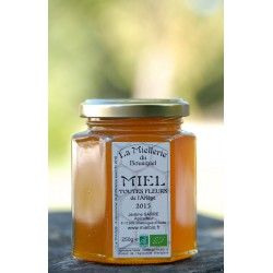 Miel Bio Fleurs de l`Ariège 2015 en pot 250g