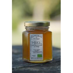 Miel Bio Fleurs de l`Ariège 2015 en pot 140g