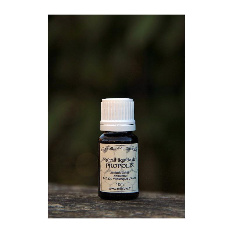 Extrait liquide de Propolis Bio 10ml