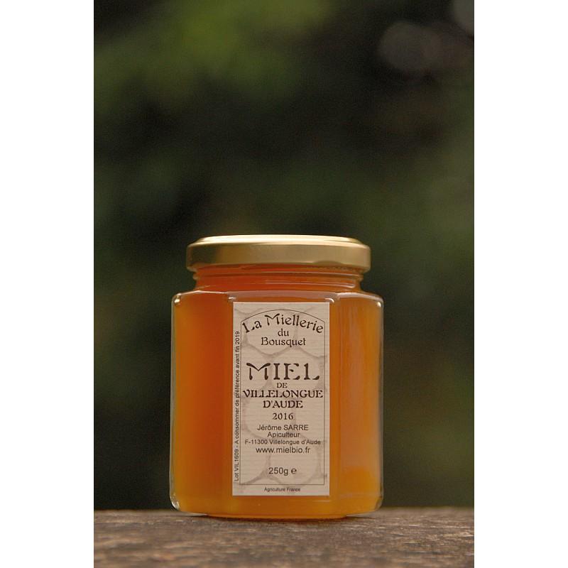 Miel de Villelongue d`Aude 2016 pot 250g