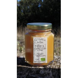 Miel Bio Fleurs de l`Ariège 2016 en pot 140g