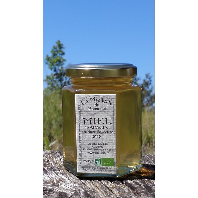 Miel Acacia Bio Pyrénées Ariège 2018 pot