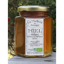 Miel Bio Thym et Fleurs de Garrigues - France/Aude