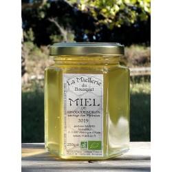 Miel de Rhododendron Bio de Pyrénées. Aspect à la mise en pot août 2019