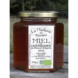 Miel de Châtaignier Bio Ariège à la mise en pot août 2019