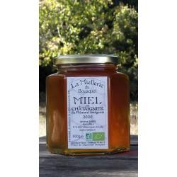 Un miel avec une odeur caractéristique, saveur puissant. Aspect à la mise en pots septembre 2020