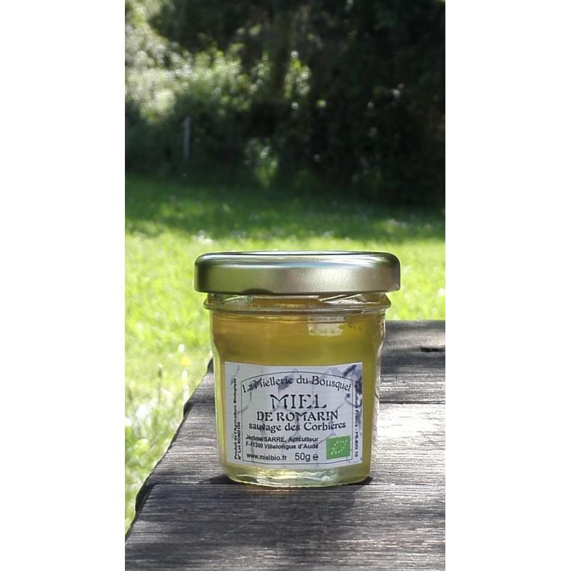 Miel Bio de Romarin sauvage Corbières 2021, aspect à la mise en pot en mai 2021