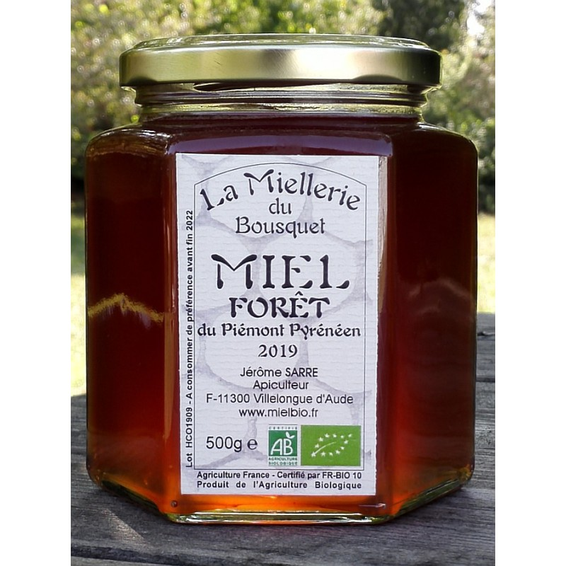 Miel de Forêt, aspect à la mise en pot en septembre.