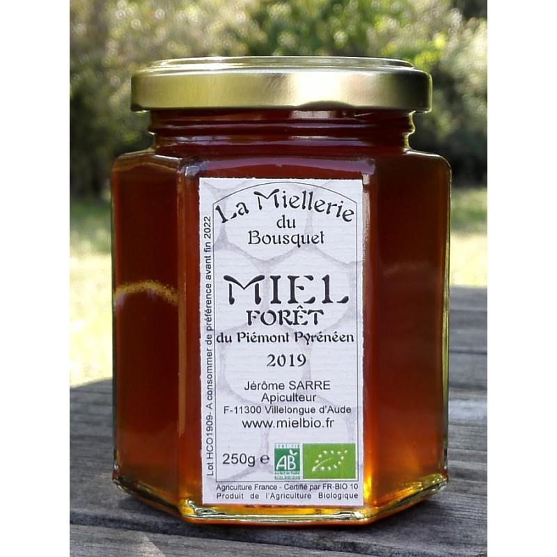 Miel de Forêt, aspect à la mise en pot en septembre