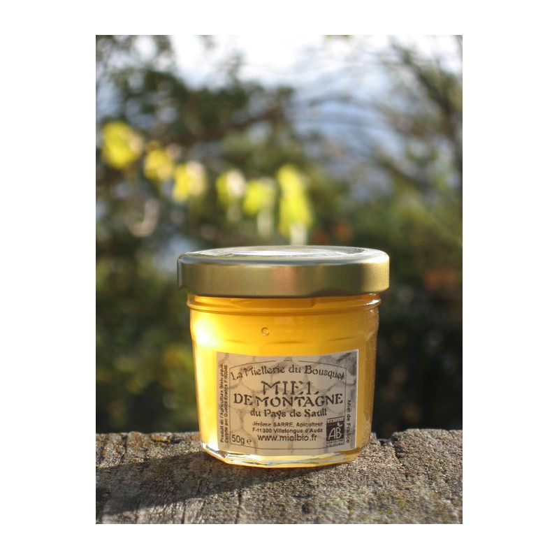 Miel de Montagne Bio en pots de 50g